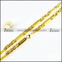 Stainless Steel Necklaces -n000124