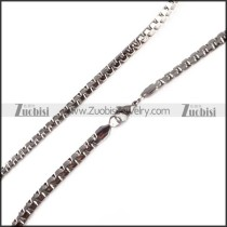 Stainless Steel Necklaces -n000112