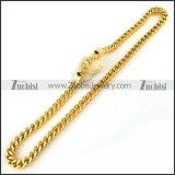Stainless Steel Necklace -n000064