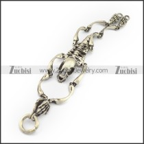 Brushing Dinosaur Skeleton Bracelet b003884
