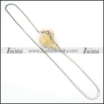 Stainless Steel Necklaces -n000110
