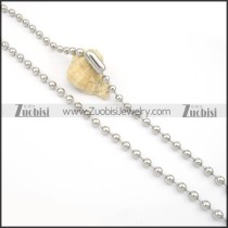 Stainless Steel Necklaces -n000129