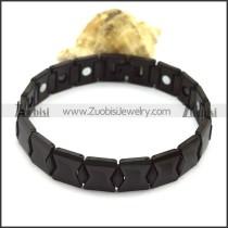 Black Tungsten Carbide Bracelets b003764