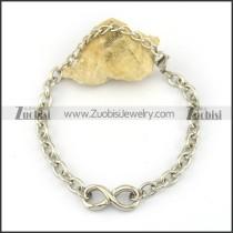 Simple 8 Link Chain Bracelet b003917