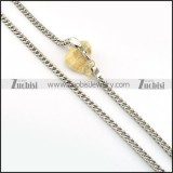 Stainless Steel Necklace -n000221