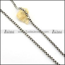 Vintage 316L Stainless Steel Chain for matching men's biker jewelry -n000251