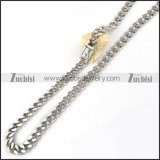 Stainless Steel Necklace -n000063