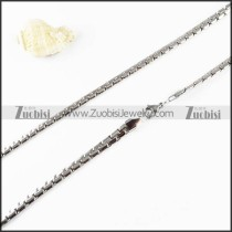 Stainless Steel Necklaces -n000115