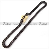 Stainless Steel Necklace -n000065
