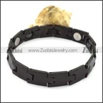 Black Tungsten Band in Simple Design b003760