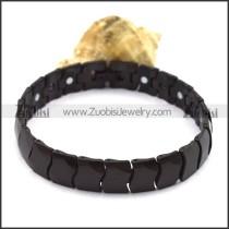 Black Tungsten Carbide Bracelet b003763