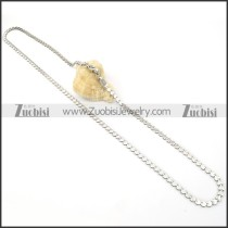 Stainless Steel Necklaces -n000111