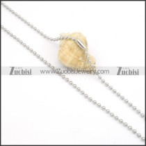 Stainless Steel Necklaces -n000128