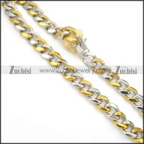 Stainless Steel Necklaces -n000133