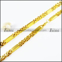 Stainless Steel Necklaces -n000123