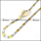 Stainless Steel Necklace -n000061