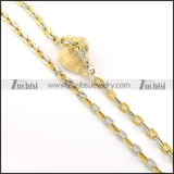 Stainless Steel Necklace -n000218