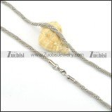 practical noncorrosive steel Fashion Necklaces for Ladies & Girls - n000140