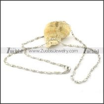 Nice-looking Steel small chain necklaces for ladies -n000381