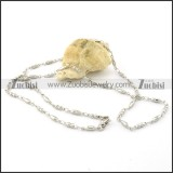 Wonderful Oxidation-resisting Steel small chain necklaces for ladies -n000384