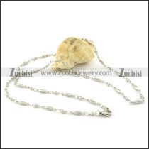 Functional 316L small chain necklaces for ladies -n000383