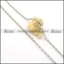 Beauteous Noncorrosive Steel small chain necklaces for ladies -n000373