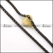 Great Quality Steel stamping necklaces -n000405