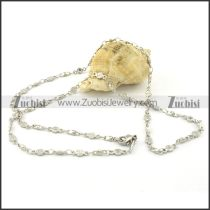 Nice-looking Oxidation-resisting Steel small chain necklaces for ladies -n000388