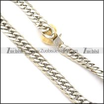 hot selling Stainless Steel Stamping Necklaces for Men -n000334