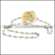 Great 316L Steel small chain necklaces for ladies -n000387