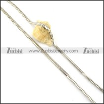 Functional Oxidation-resisting Steel Stamping Necklace with Vintage-inspired Style -n000341