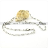 Beautiful Steel small chain necklaces for ladies -n000382