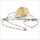 Good 316L Stainless Steel small chain necklaces for ladies -n000385