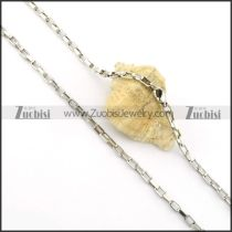 Nice 316L Stainless Steel small chain necklaces for ladies -n000376
