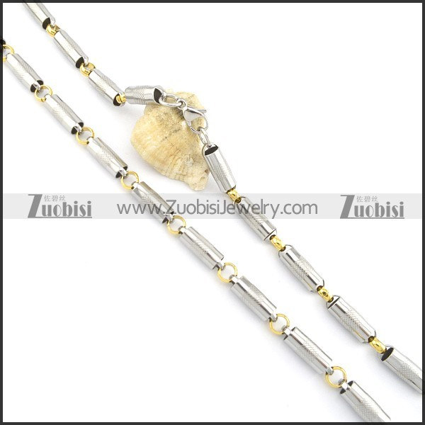 Gold Plated Necklaces n000578