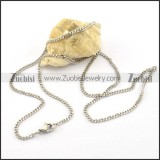 2mm small chain necklace for ladies n000592