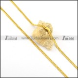 3mm wide small oblate round link chain n000655