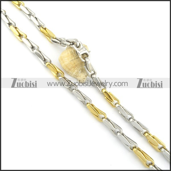 Gold Plated Necklaces n000590