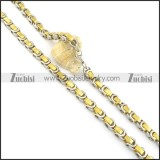 Gold Plated Necklaces n000583