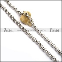 Stainless Steel Rolo Chain n001023