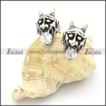Stainless Steel Dragon Earrings -e000145