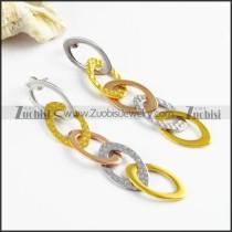 Stainless Steel Earrings -e000164