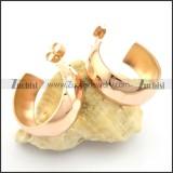 rose gold earrings for women e000910