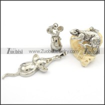 Stainless Steel Matching Jewelry - s000180