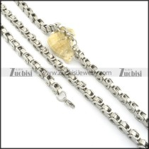 8mm wide stainless steel matching jewelry s000824