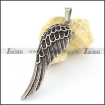 Stainless Steel Casting Wing Pendant -p000722