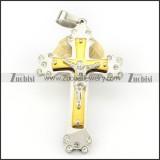 Stainless Steel Cross Pendant -p000692