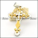 Stainless Steel Cross Pendants - p000546