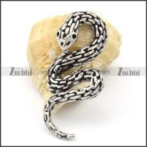 Stainless Steel Snake Pendant -p000312