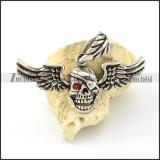 Stainless Steel Skull Pendant -p000743